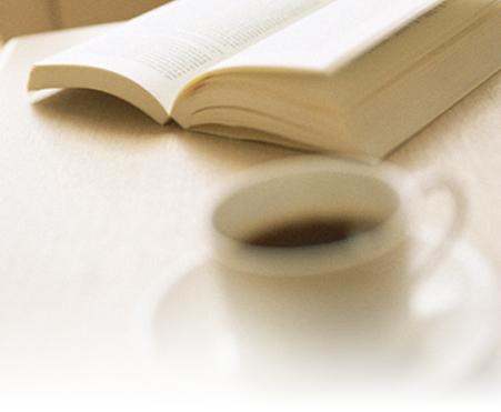 本とコーヒーのイメージ