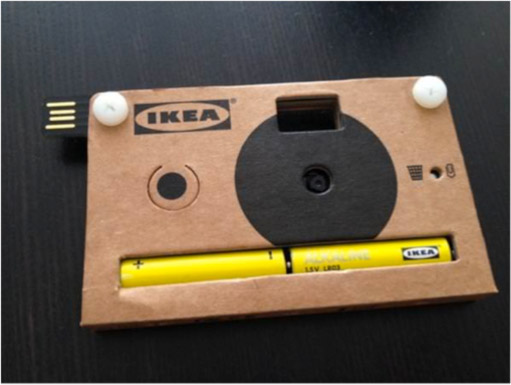IKEA段ボールカメラ